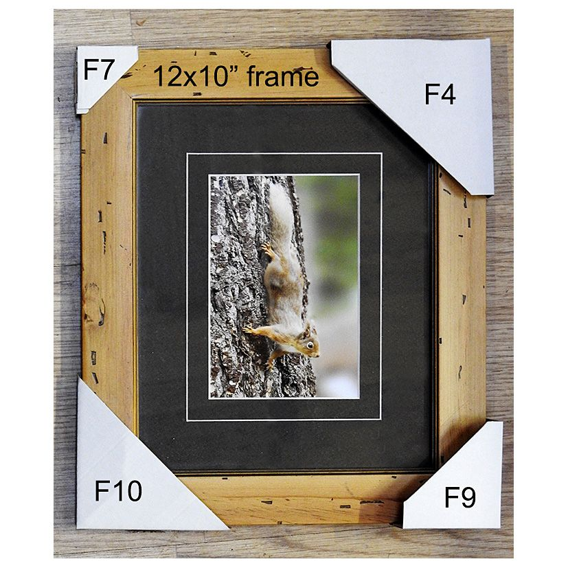 Cardboard Picture Frame Corner Protectors Adjustable F10 70mm X